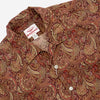 Battenwear - Zuma Vacation Shirt - Red Paisley