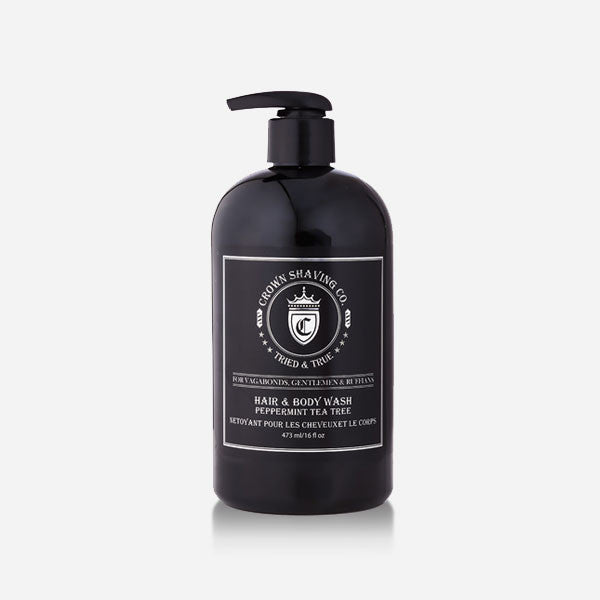 Peppermint Tea Tree Hair & Body Wash (473 ml)