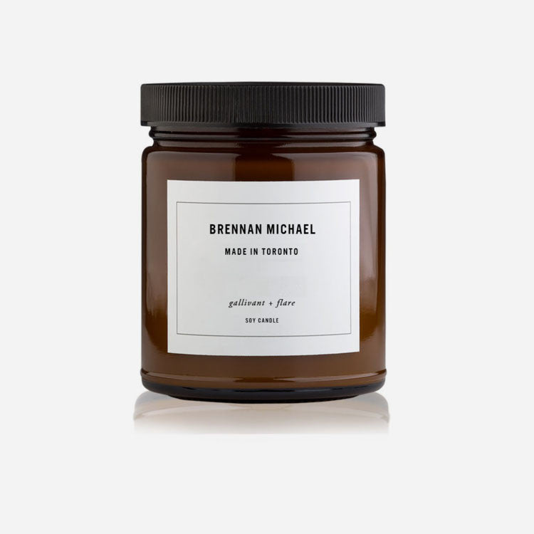 Brennan Michael - Scented Candle - gallivant + flare
