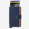 Securid - Mini Wallet - Indigo 5 Leather