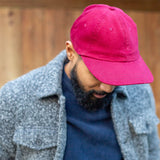 Field Cap - Brushed Maroon