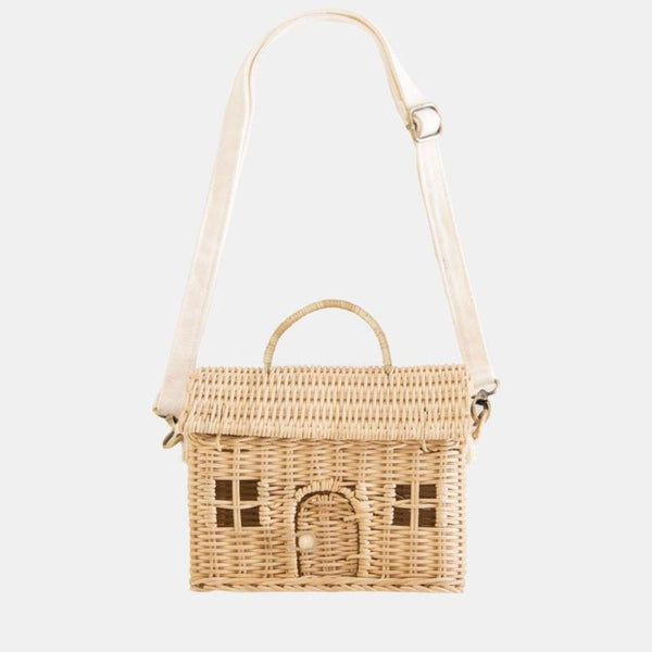 Olli Ella Casa Bag in Straw