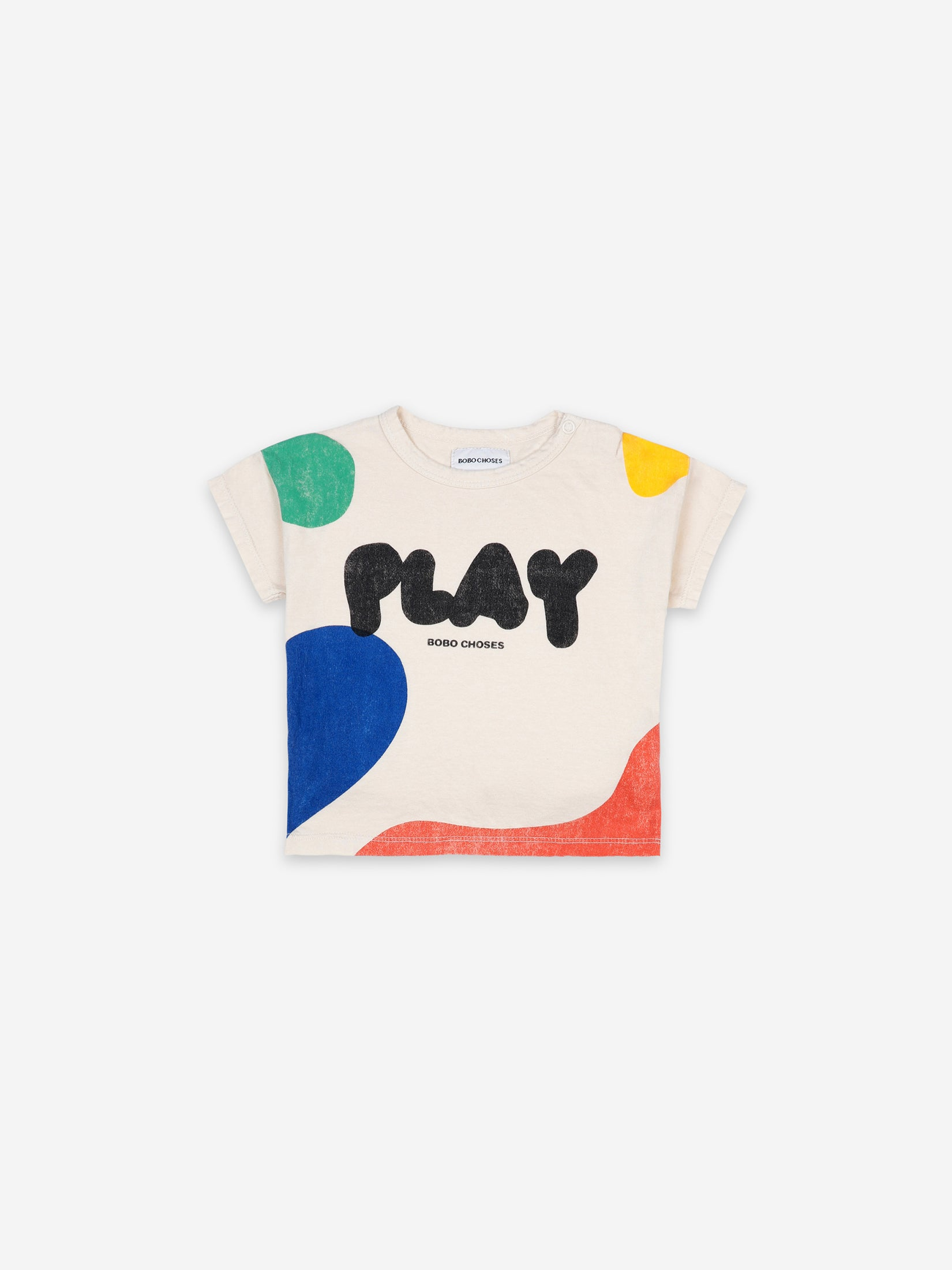 Bobo Choses Kids Play Landscape Short Sleeves T-Shirt | Sweet Threads