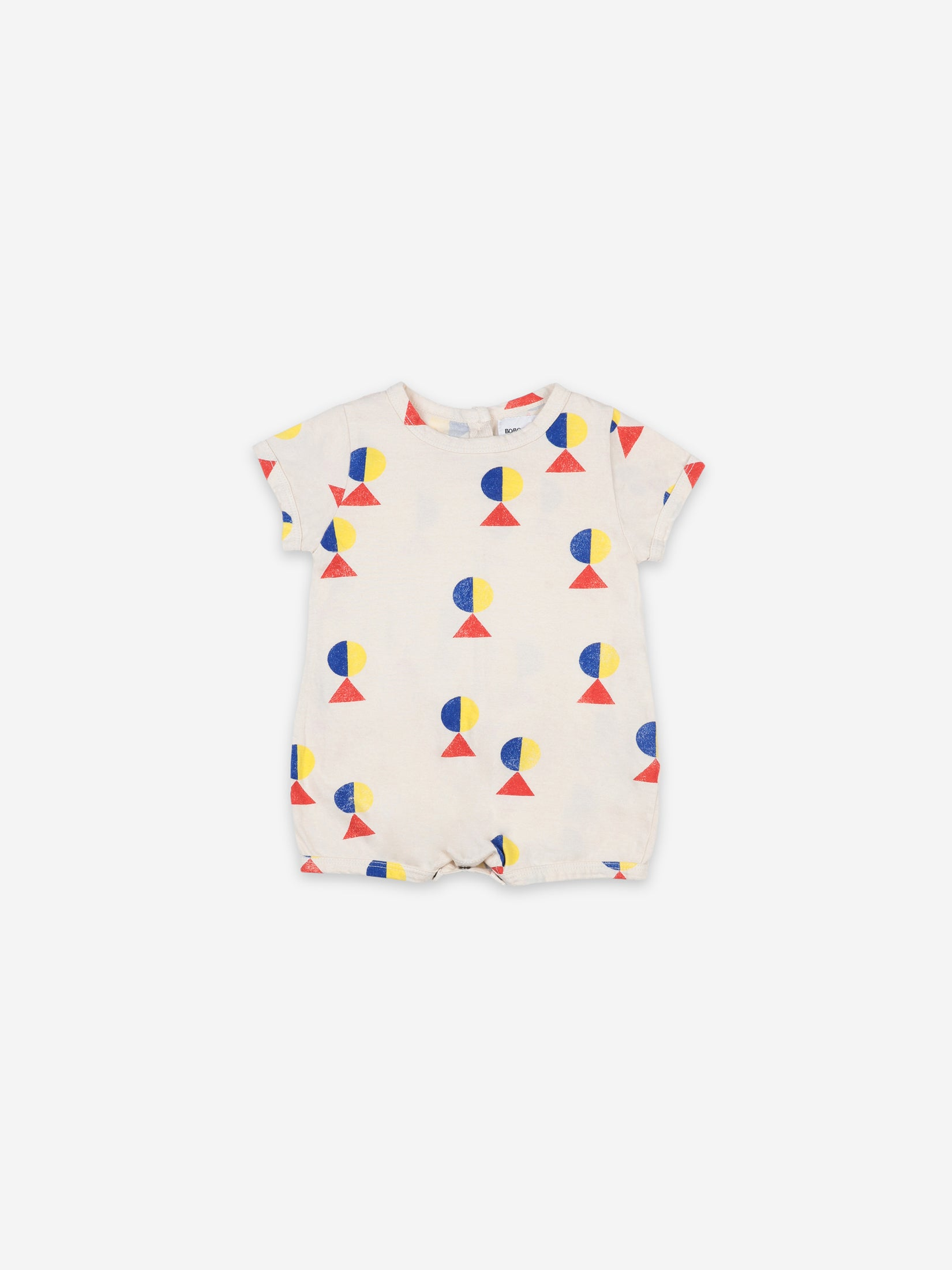 Bobo Choses Baby Geometric All Over Playsuit | Sweet Threads