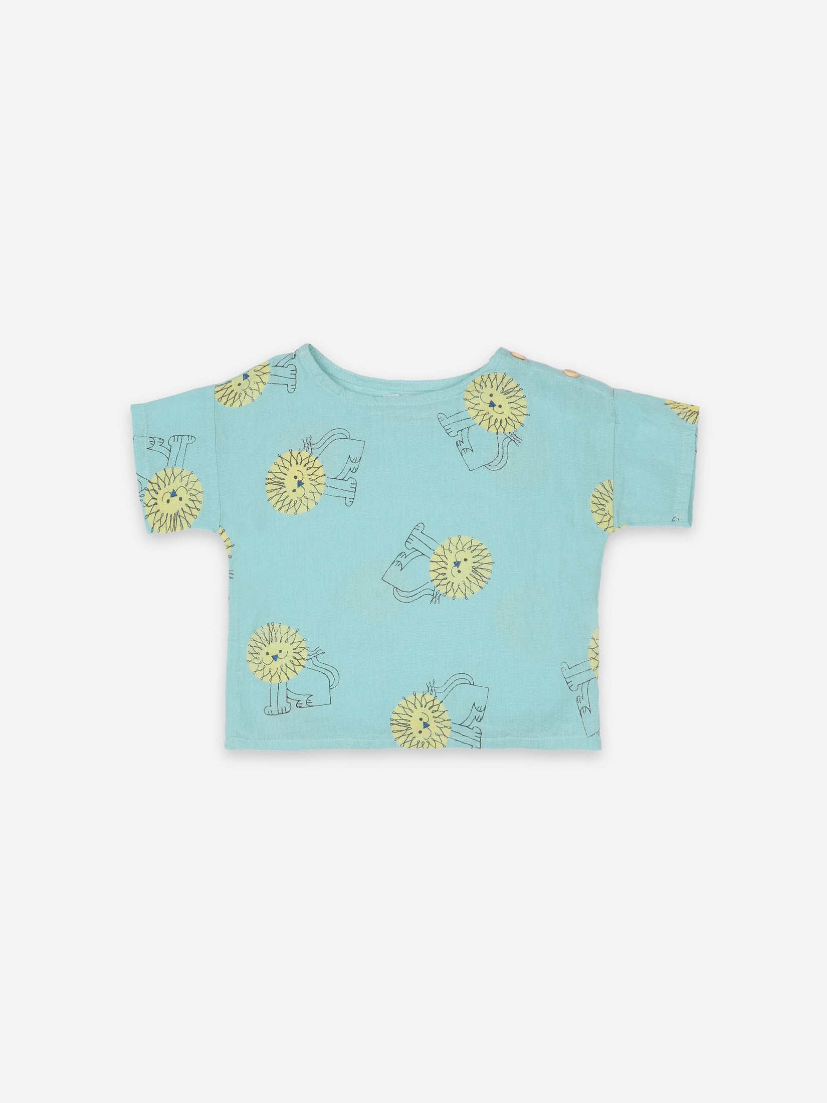 Bobo Choses Baby Pet a Lion All Over T-Shirt | Sweet Threads