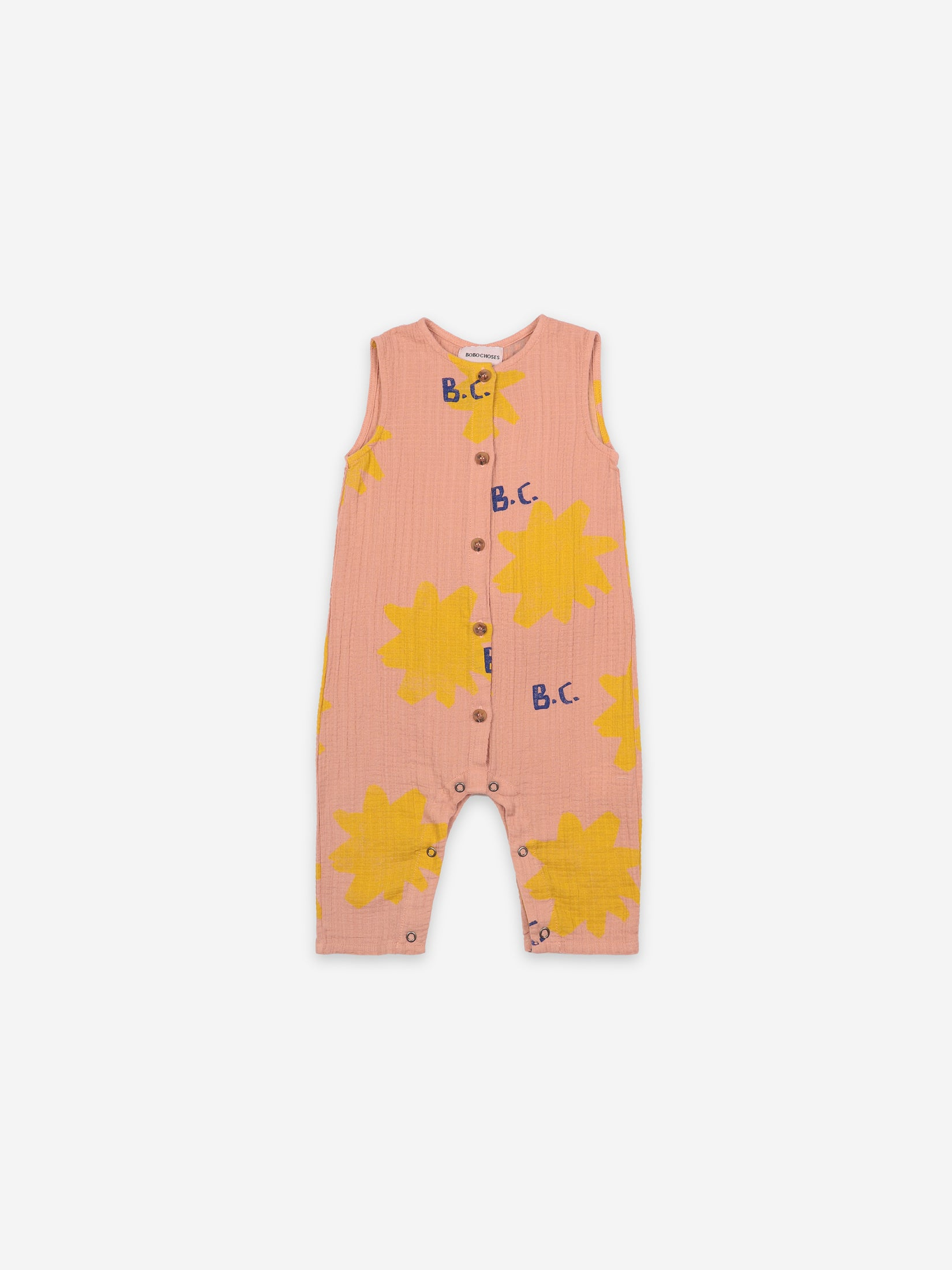 Bobo Choses Baby Sparkle All Over Woven Overall | Sweet Threads