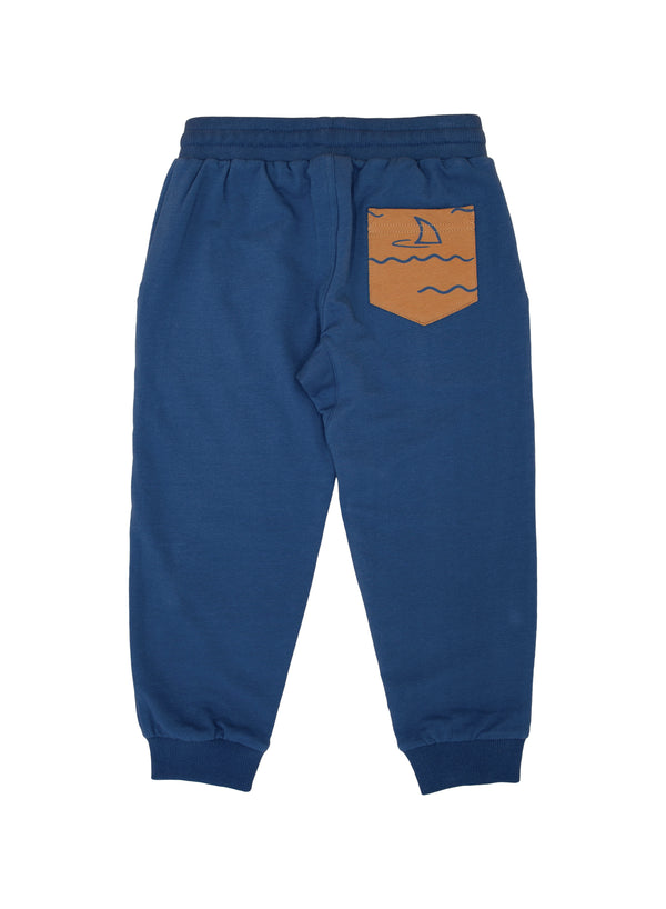 Feather 4 Arrow Protect Sharks Jogger in Navy | Sweet Threads