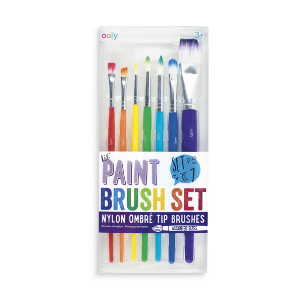 OOLY Lil Paint Brush Set- Set of 7