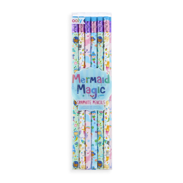 OOLY Mermaid Magic Graphite Pencil- Set of 12