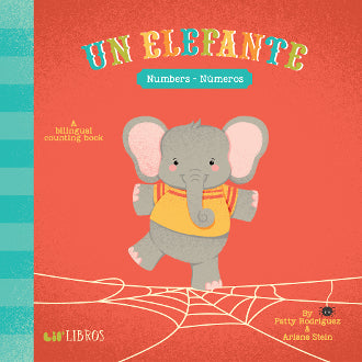 Lil Libros Un Elefante: Numbers/Numeros | Sweet Threads