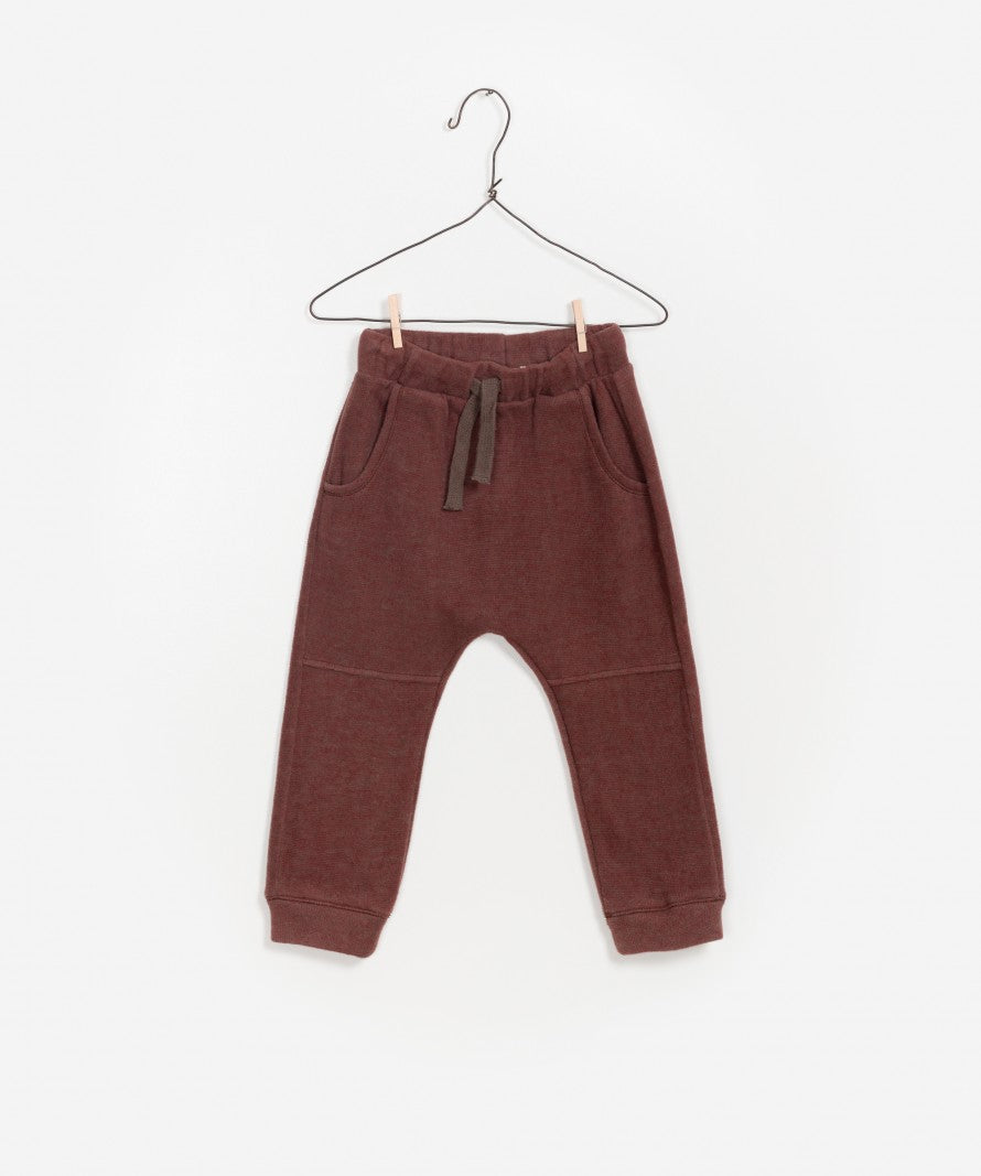 Play Up Double Face Trousers in Earth | Sweet Threads