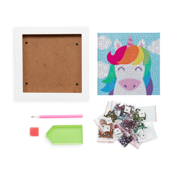 OOLY Razzle Dazzle Unique Unicorn DIY Gem Art Kit