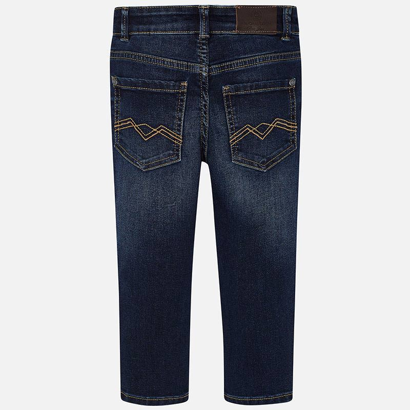 Mayoral Long Pants for Boys in Dark Denim | Sweet Threads