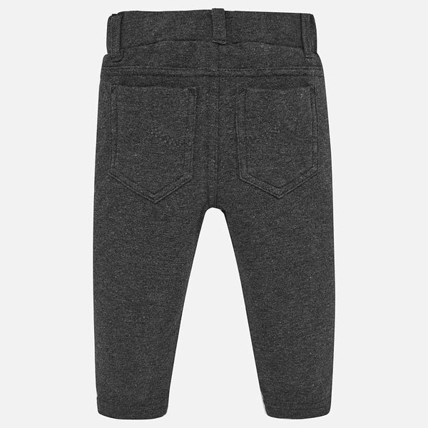 Mayoral Baby Girl Super Skinny Pants in Lead | Sweet Threads
