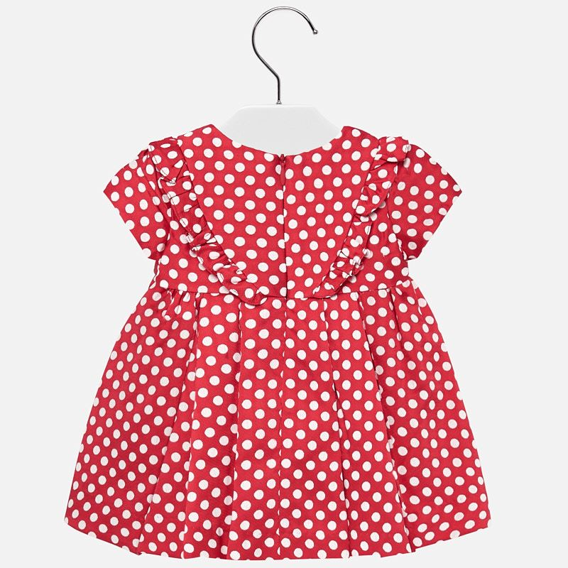 Mayoral Baby Girl Dress in Scarlet | Sweet Threads