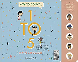 How To Count 1 TO 5 In Five Languages  | Sweet Threads