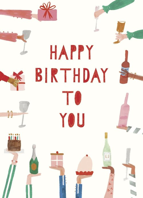 Mr Boddington Happy Birthday to You Card | Sweet Threads