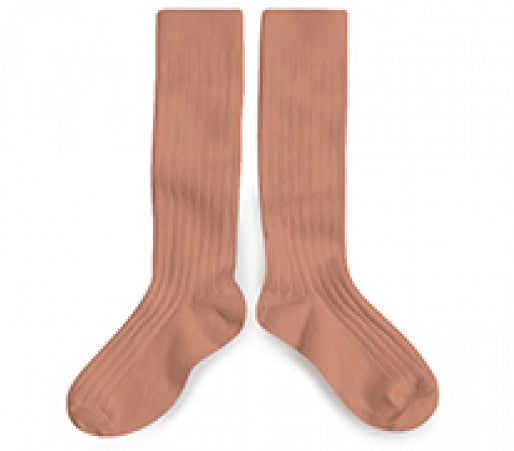 Collegien Knee High Socks in Bois de Rose | Sweet Threads