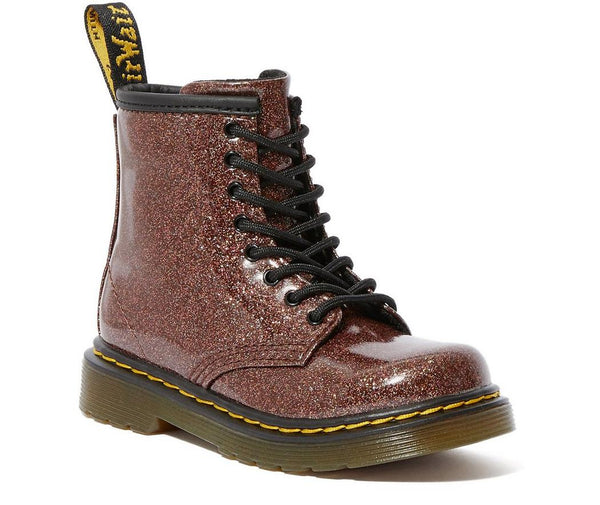 Dr Marten 1460 Glitter Boots in Rose Brown Coated glitter **PRICE VARIES  | Sweet Threads