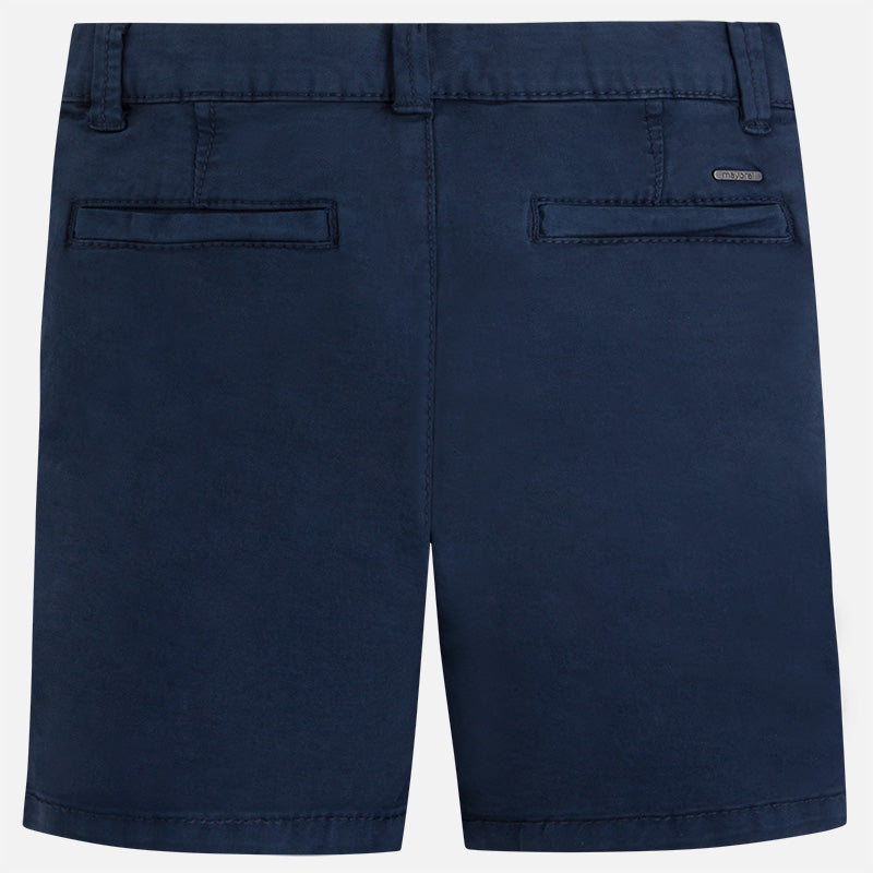 Mayoral Twill Chino Basic Shorts in Navy Blue | Sweet Threads