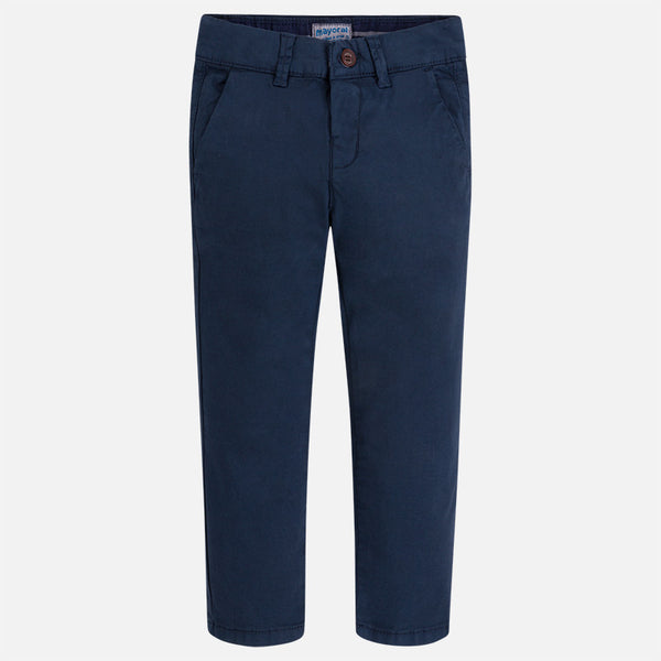 Boy Twill Chino Long Trousers by maroyal