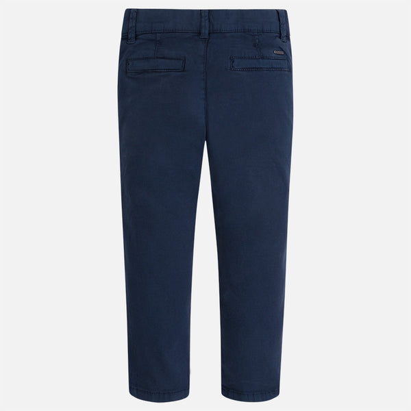 Maroyal Boy Twill Chino Long Trousers in Blue | Sweet Threads
