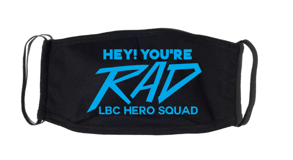 LBC Hero Squad Hey! You're Rad Mask with Filter Insert