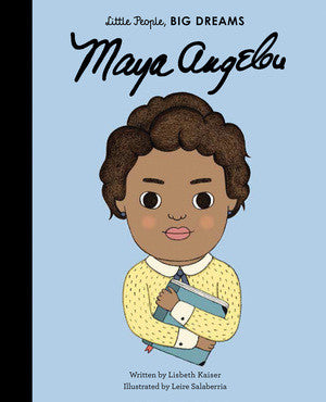 Little People Big Dreams: Maya Angelou | Sweet Threads