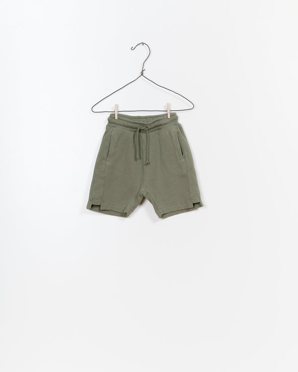 Play Up Mixed Shorts in Green | Sweet Threads