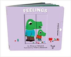 Feelings Pull and Play Book | Sweet Threads
