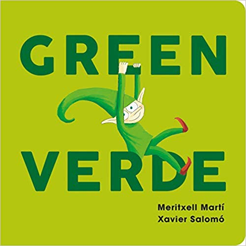 Green-Verde (English & Spanish) Board Book | Sweet Threads