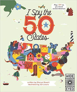 I Spy The 50 States | Sweet Threads