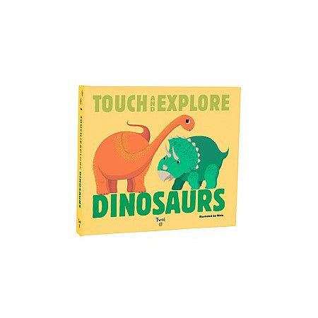 Touch & Explore Dinosaurs Book | Sweet Threads