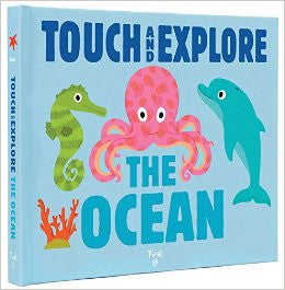 Touch & Explore The Ocean Book | Sweet Threads