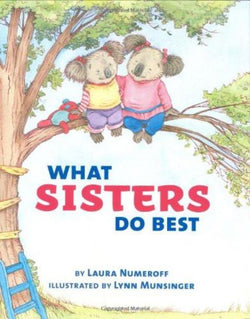 What Sisters Do Best Book Board Book  | Sweet Threads
