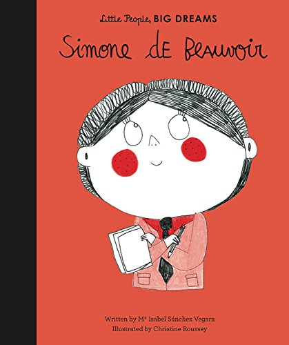 Simone De Beauvoir - Little People, Big Dreams | Sweet Threads