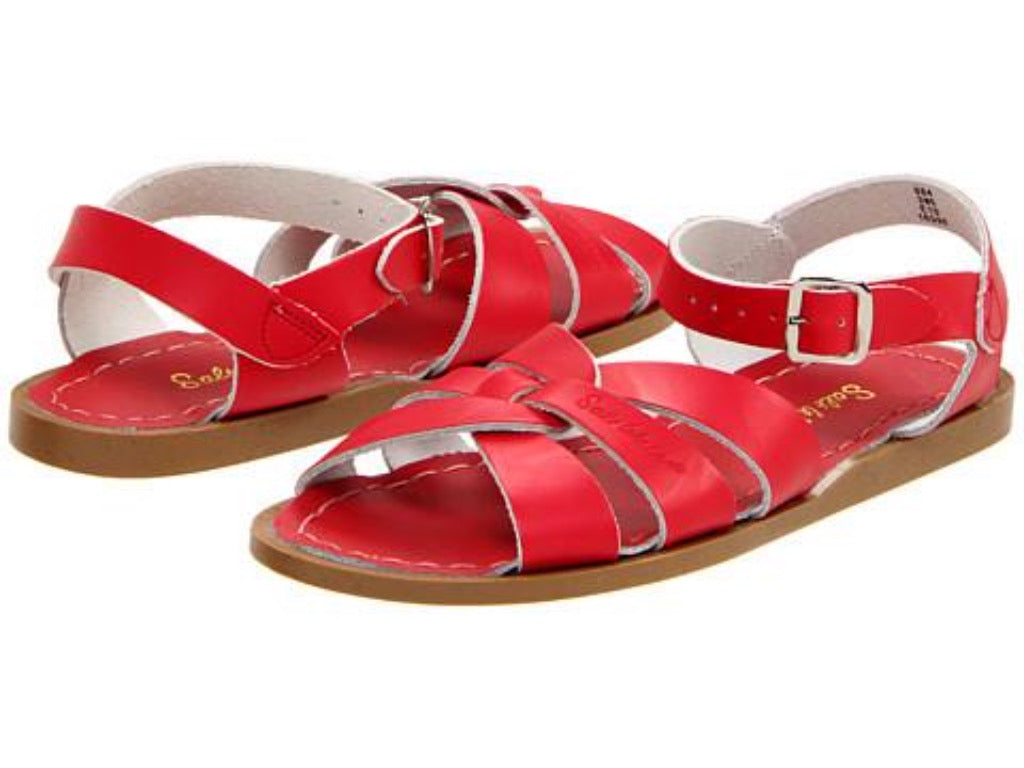 Salt Water Original Sandal in Red | Sweet Threads