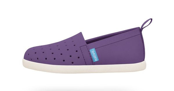 Venice Child in Orchid Purple/Bone White by Native Shoes