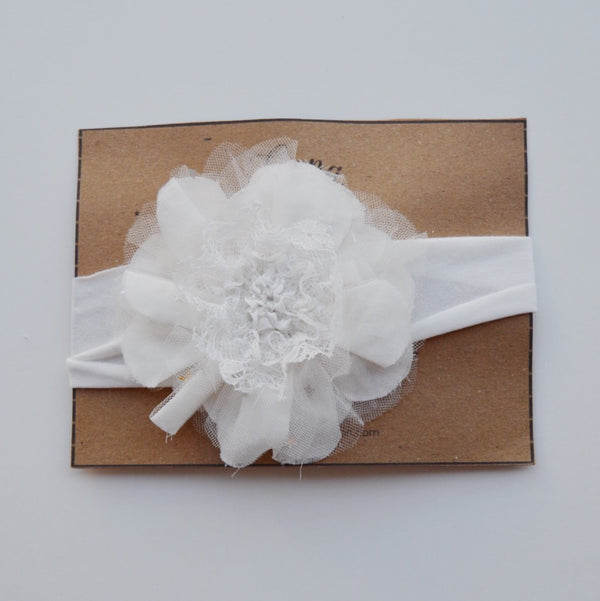 Luna Luna Camelia Headband in Jasmin | Sweet Threads