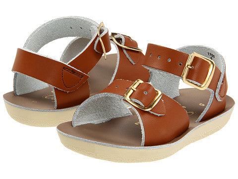 Salt Water Tan Surfer Sandals