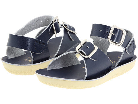 Salt Water Navy Surfer Sandals