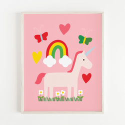 Ann Kelle Unicorn Dreams Art Print