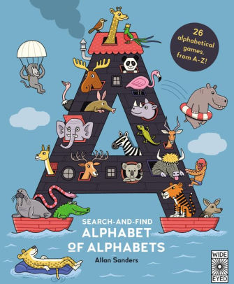 Search and Find Alphabet of Alphabets | Sweet Threads