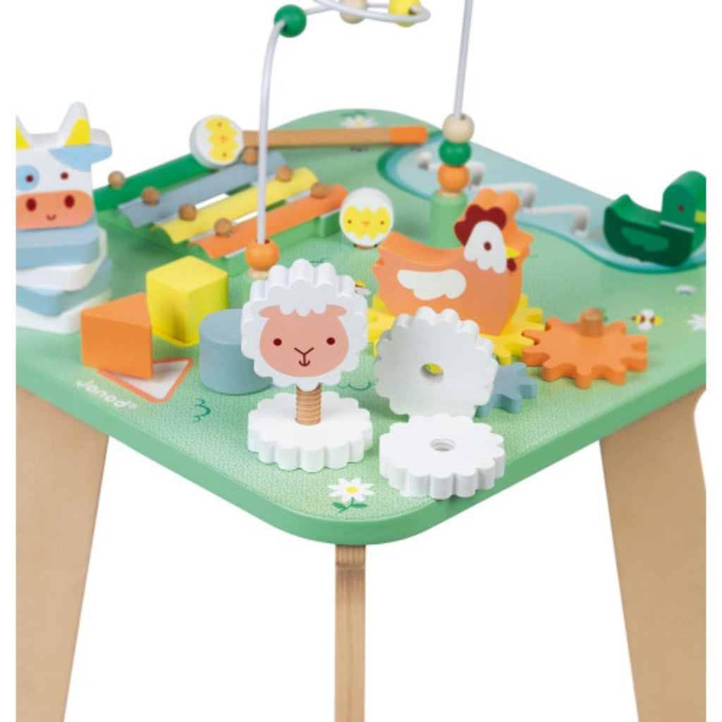 Janod Pretty Meadow Activity Table (Wood)