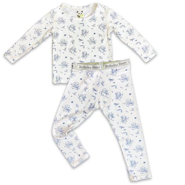 Bellabu Bear Ninja Long Sleeve 2pc Set | Sweet Threads