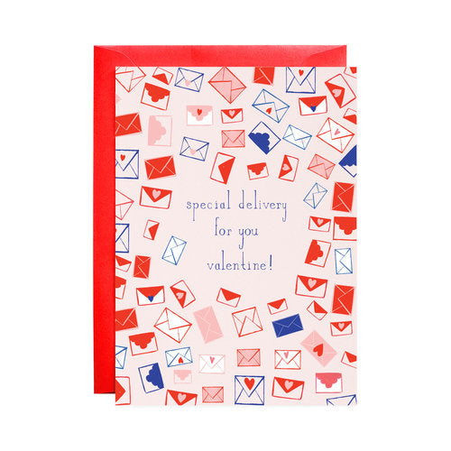 Mr Boddington Special Delivery Valentine - GREETING CARD | Sweet Threads