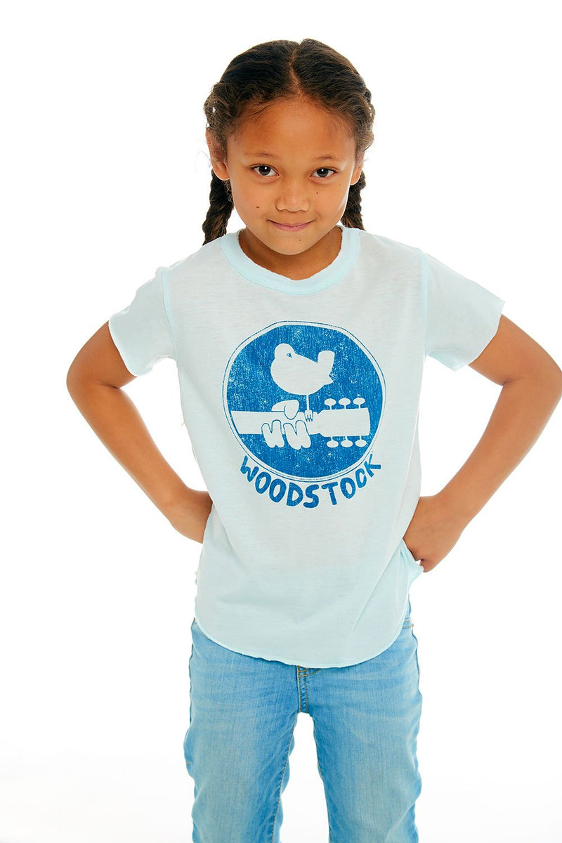 Chaser Classic Woodstock Tee in Waterfall | Sweet Threads
