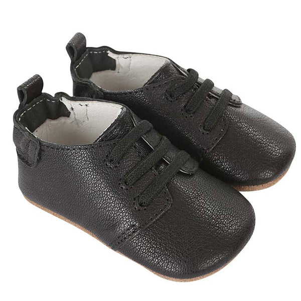 Robeez Owen Oxford First Kicks - Black | Sweet Threads
