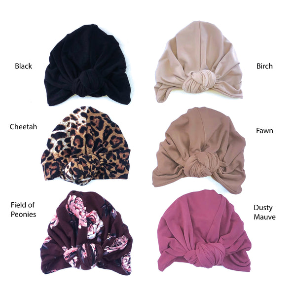 Camden & Friends Turban in Cheetah | Sweet Threads