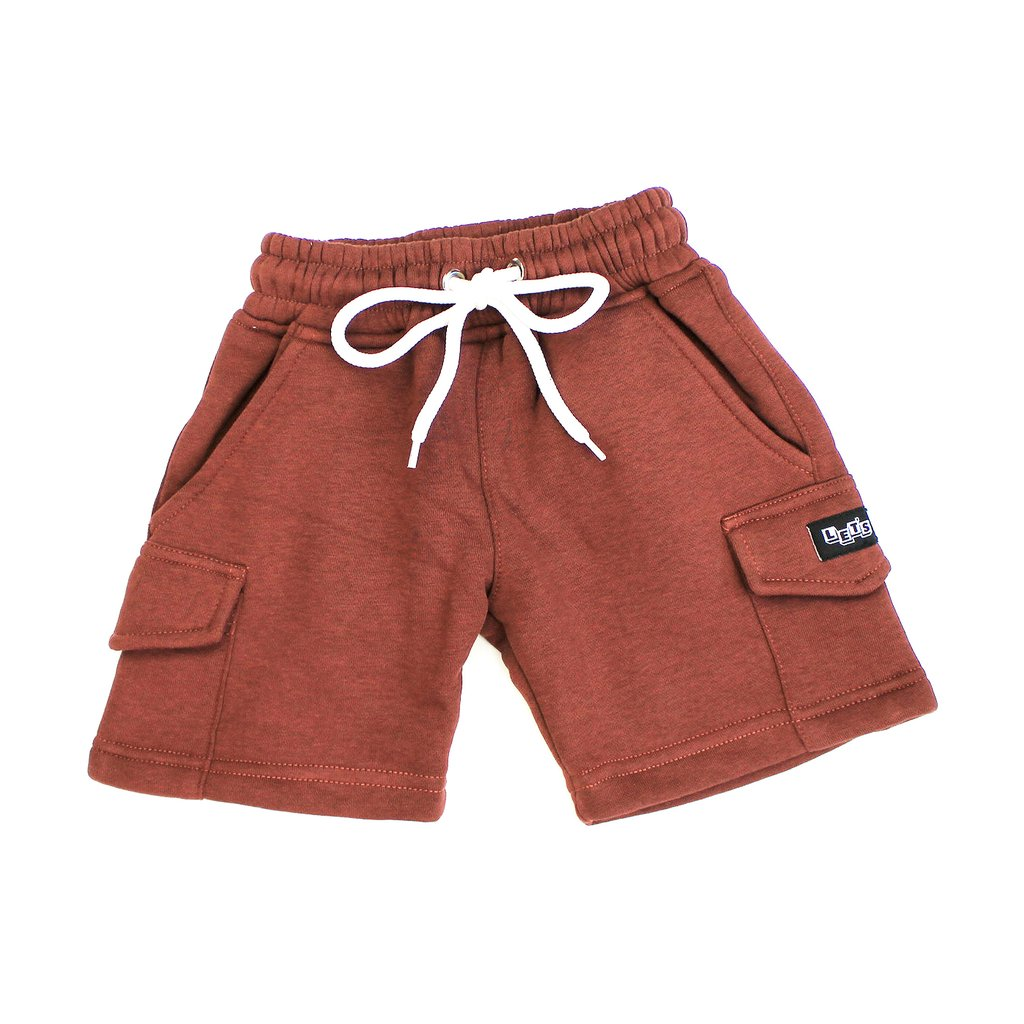 Let's Kids Fleece Cargo Short